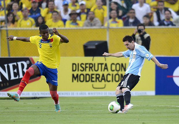Argentina volverá a enfrentarse a Ecuador aunque esta vez será un amistoso en Nueva Jersey.