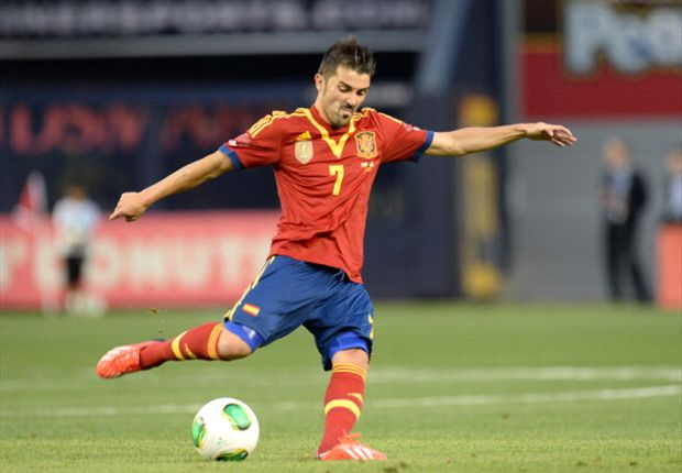 David Villa denies wanting English Premier League move