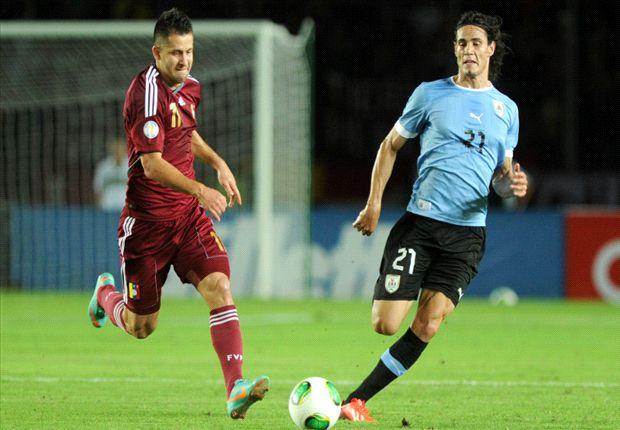 Cavani anotó el único gol del partido