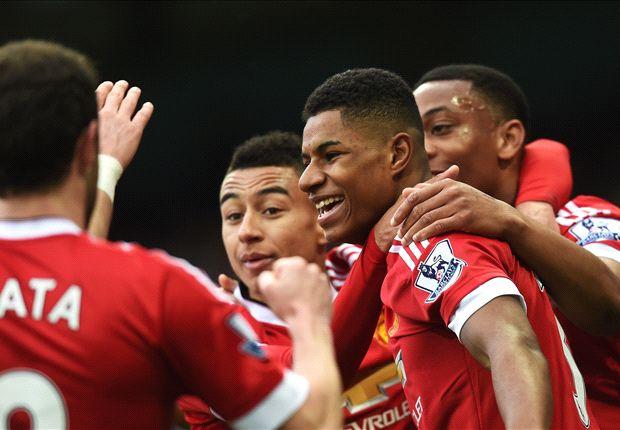 Rashford breaks Rooney's Manchester derby record