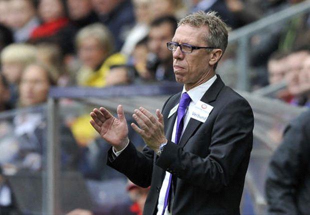 Der 1. FC Köln von Trainer Peter Stöger hat ein erneute Strafe zu befürchten