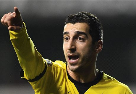 Man Utd improve Mkhitaryan offer