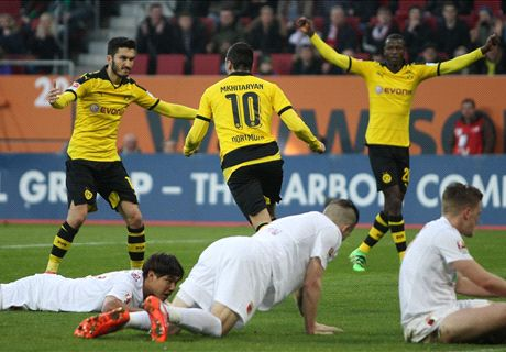 REPORT: Dortmund rally to victory