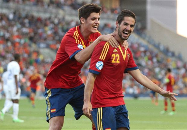 Euro 2013 Under-21 round-up: Spain breeze past Netherlands to top Group B as Germany beat Russia to avoid finishing bottom