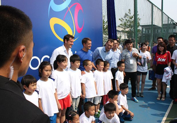 Owen in China as the new SoccerWorld ambassador