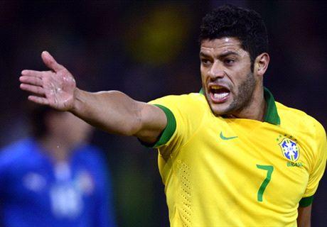 Hulk targets Brazil return