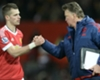 LVG plays down Schneiderlin showing