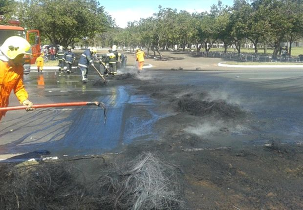 Brasilia hit by protests ahead of Confederations Cup