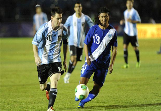 Hat-Trick Lionel Messi Cukur Guatemala