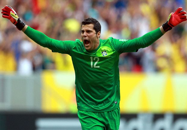 Julio Cesar hints at Arsenal move