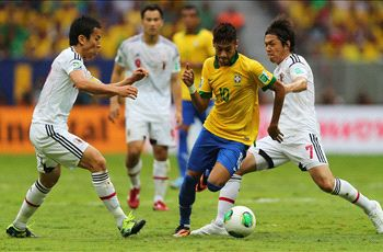 Brazil's Neymar 'delighted' with performance against Japan