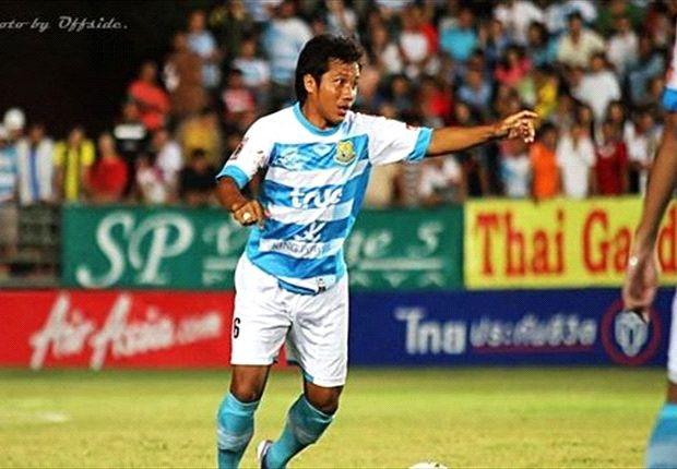 Thai midfielder Theerawekin has played for Gombak United before