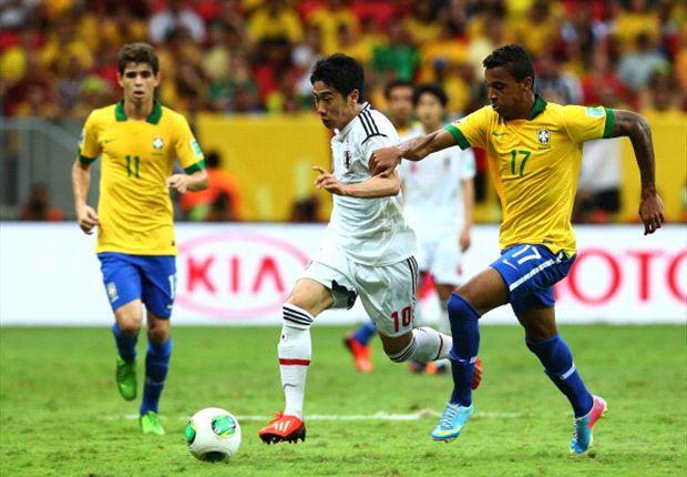 Brasil se impuso con facilidad en el primer partido del torneo