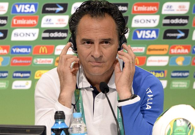 Prandelli lupakan kekalahan atas Spanyol di final Euro 2012.