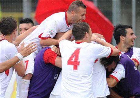 Serie B, 11ª - Carpi primo, pari Livorno