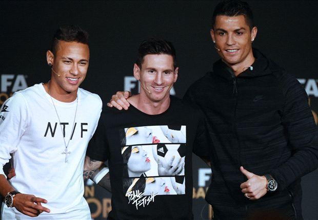 How Ronaldo HELPED Neymar at the Ballon d'Or awards