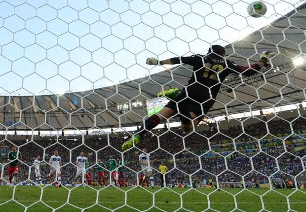 México, la selección más goleada de la Copa Confederaciones