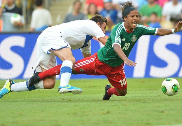 Copa Confederaciones: México 1-2 Italia | Se pone el pie el Tri en su debut