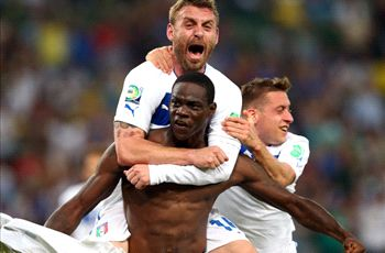 Italy can reach Confeds Cup final, says Balotelli