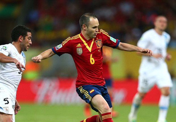 Iniesta: Spain are on the right track