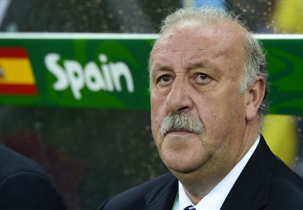 Vicente del Bosque has admitted his side struggled with the conditions against Nigeria