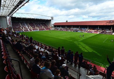 Hearts hit double figures