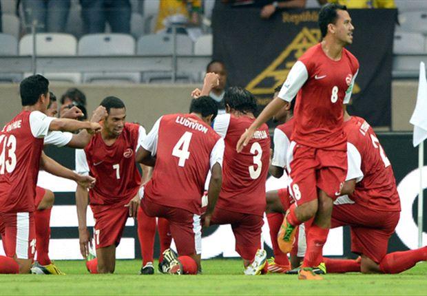 Tahití 1-6 Nigeria: Tahití remó, pero las Águilas lo bailaron