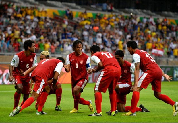 Tahiti heeft wonder nodig tegen Spanje