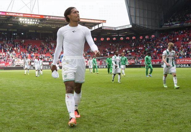 Celtic sign Van Dijk from Groningen