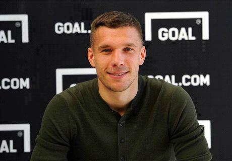 Podolski: Mi ídolo era Ronaldo Nazario