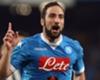 Conte targets Higuain and Cavani