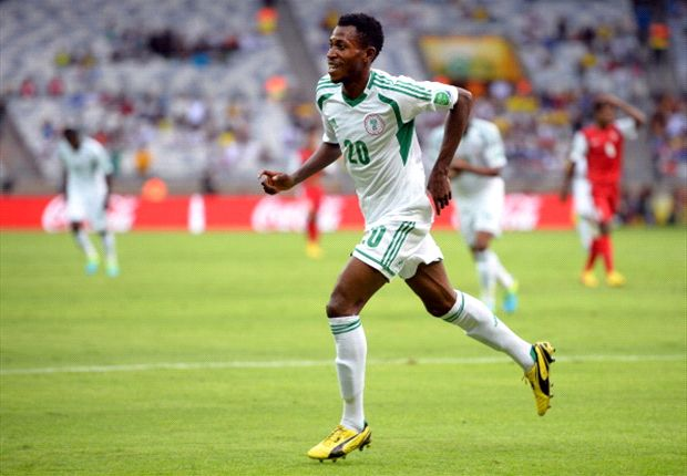 Oduamadi has become the ninth Nigeria player to score a hat trick