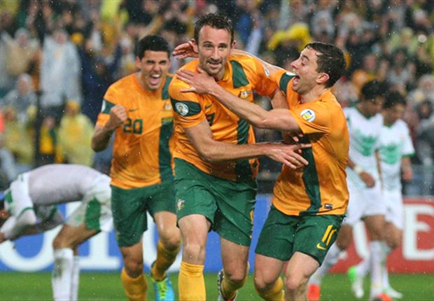 Josh Kennedy's strike against Iraq means Australia are on the rise