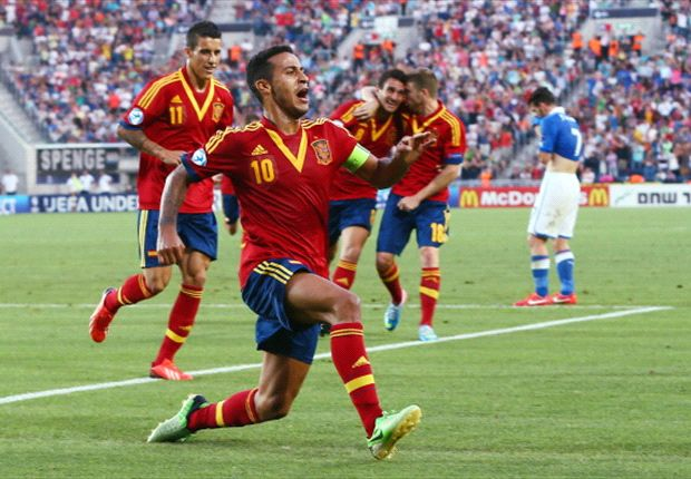 Euro Under-21 Team of the Tournament: Thiago & Isco star as Spain dominate