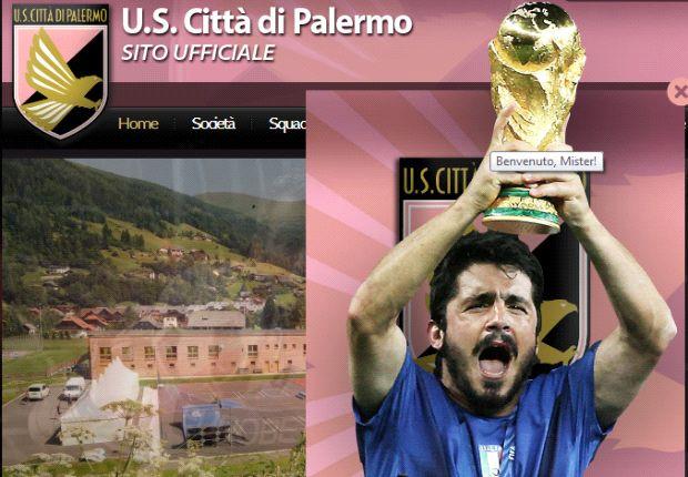 Genaro Gattuso se convierte en el nuevo entrenador del Palermo