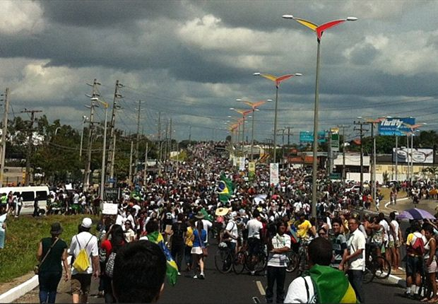 Neymar: Protests are sad for Brazil