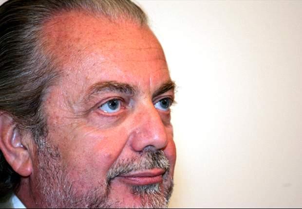 Napoli Chief Aurelio De Laurentiis: I Am Expecting To See A Good Game Against Catania
