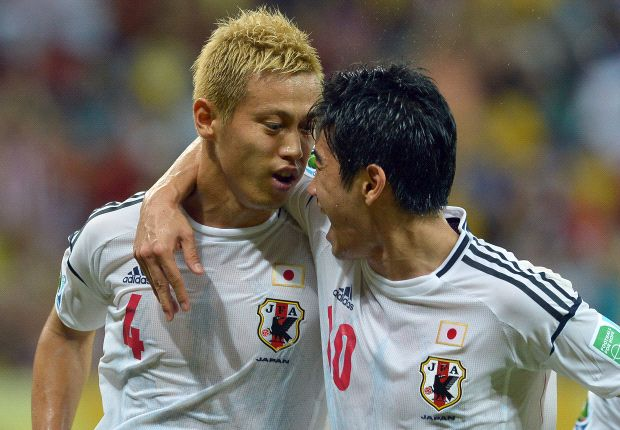 Honda and Kagawa scored against Italy, but Japan still lost eventually
