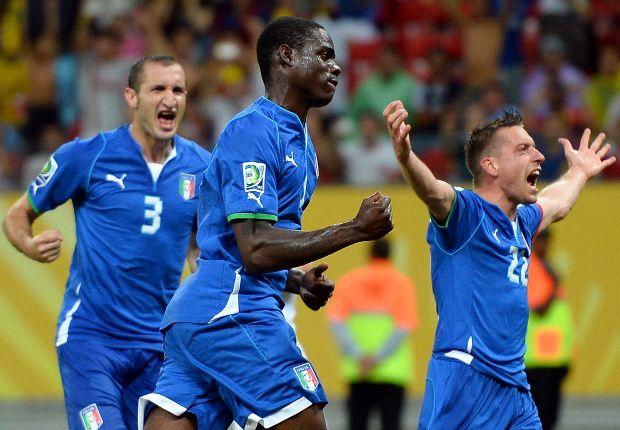 Itália vence o Japão de virada
