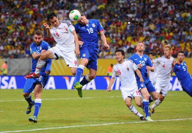 Did you just see that? Italy and Japan serve up an all-time international classic