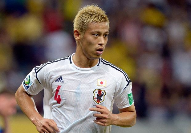 Honda: Japan need more players in the top leagues