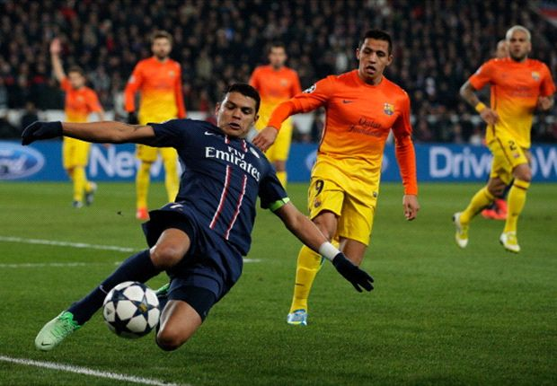 PSG tell Barcelona Thiago Silva is not for sale