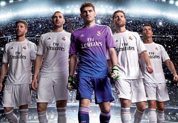 Así será la equipación del Real Madrid para la temporada 2013-14