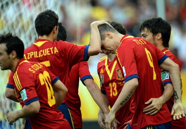 Spain's 10-goal Tahiti win their biggest in 30 years
