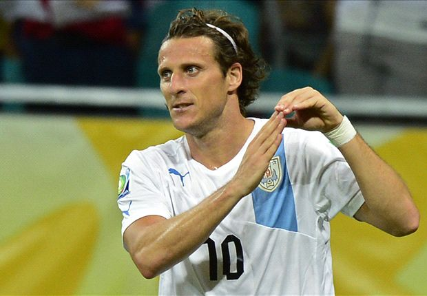 Uruguay's real hero: Forlan overshadows Cavani and Suarez on 100th cap
