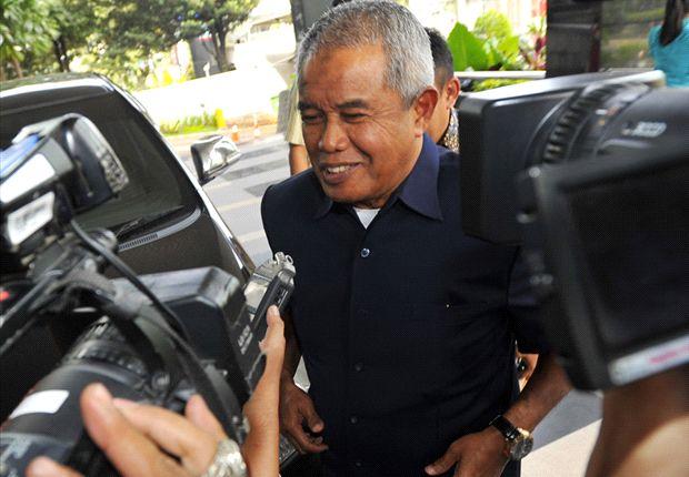 Ketua umum PSSI Djohar Arifin Husein memuji permainan Indonesia ketika menjungkalkan Thailand