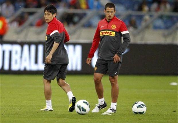 """""""Chicharito"""" y Kagawa, los Red Devils juegan por el orgullo"""