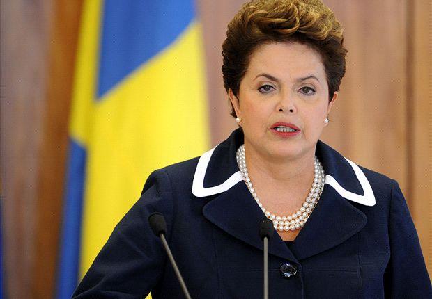 'Braziliaanse president niet bij finale'