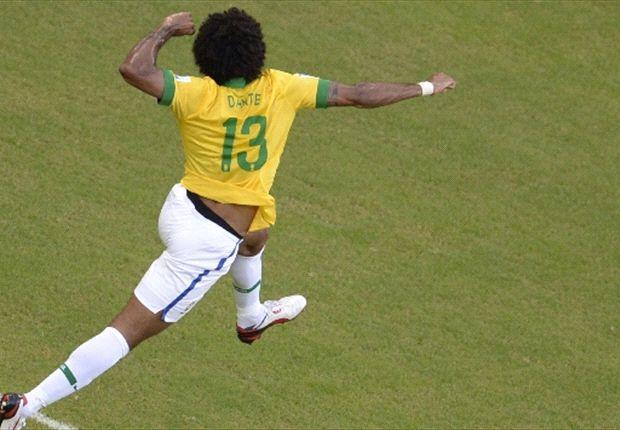 Wird Dante bei der WM 2014 den Sieg bejubeln können?