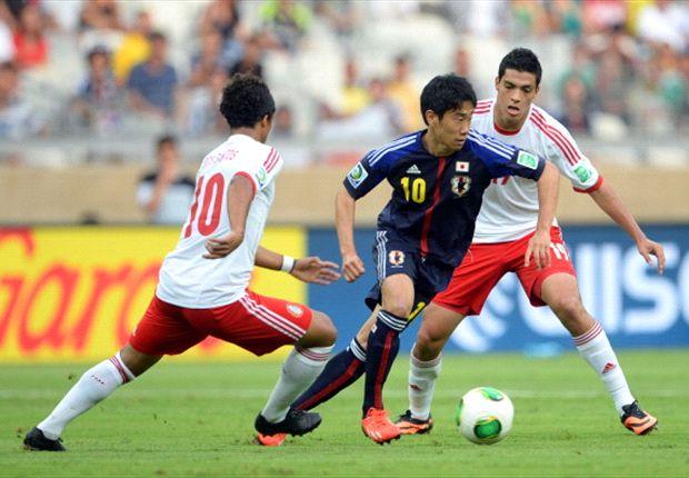 Shinji Kagawa im Nationaldress (hier gegen Mexiko)
